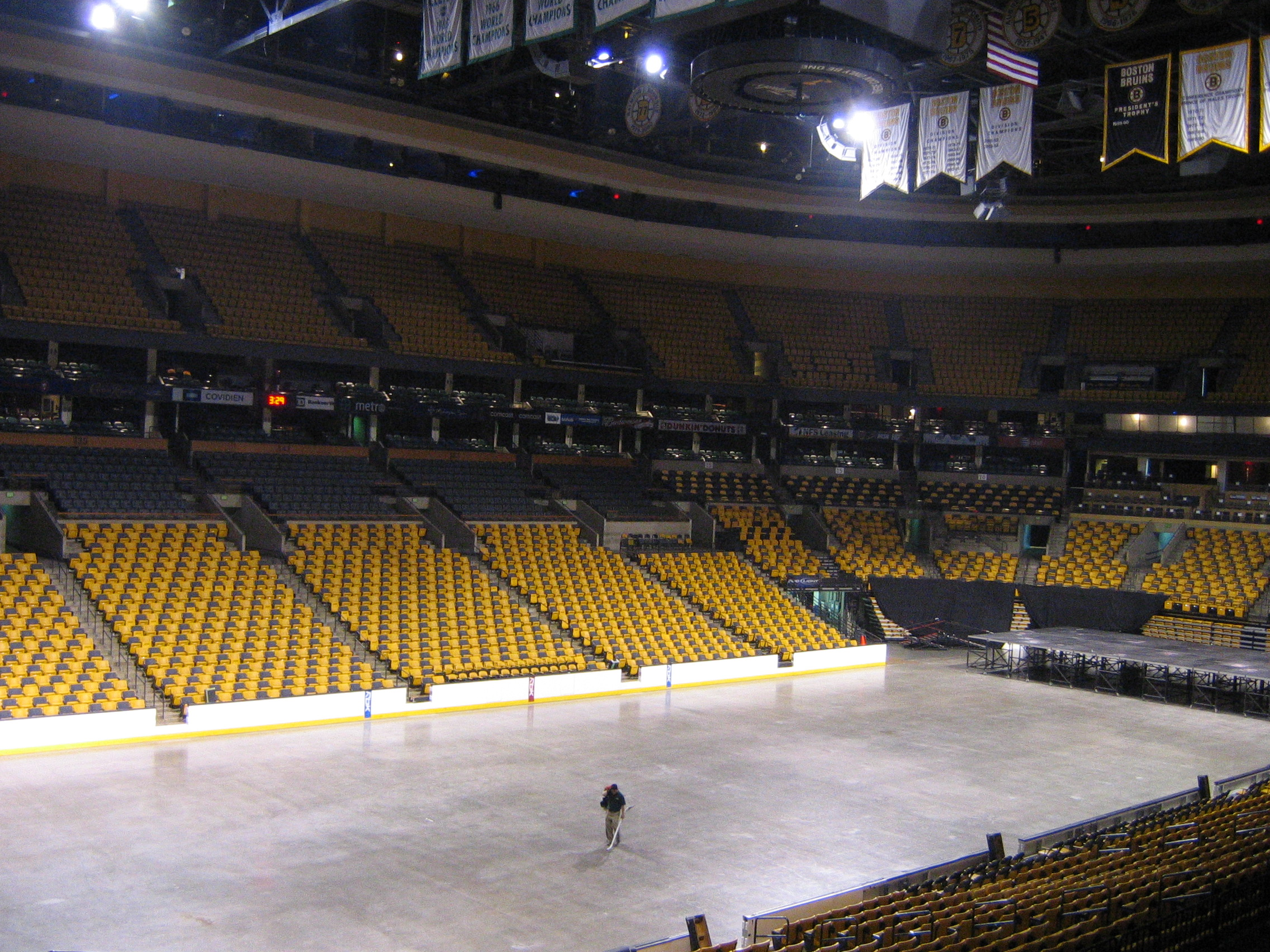 Td Garden November 09 10th 2010 Boston Mass These