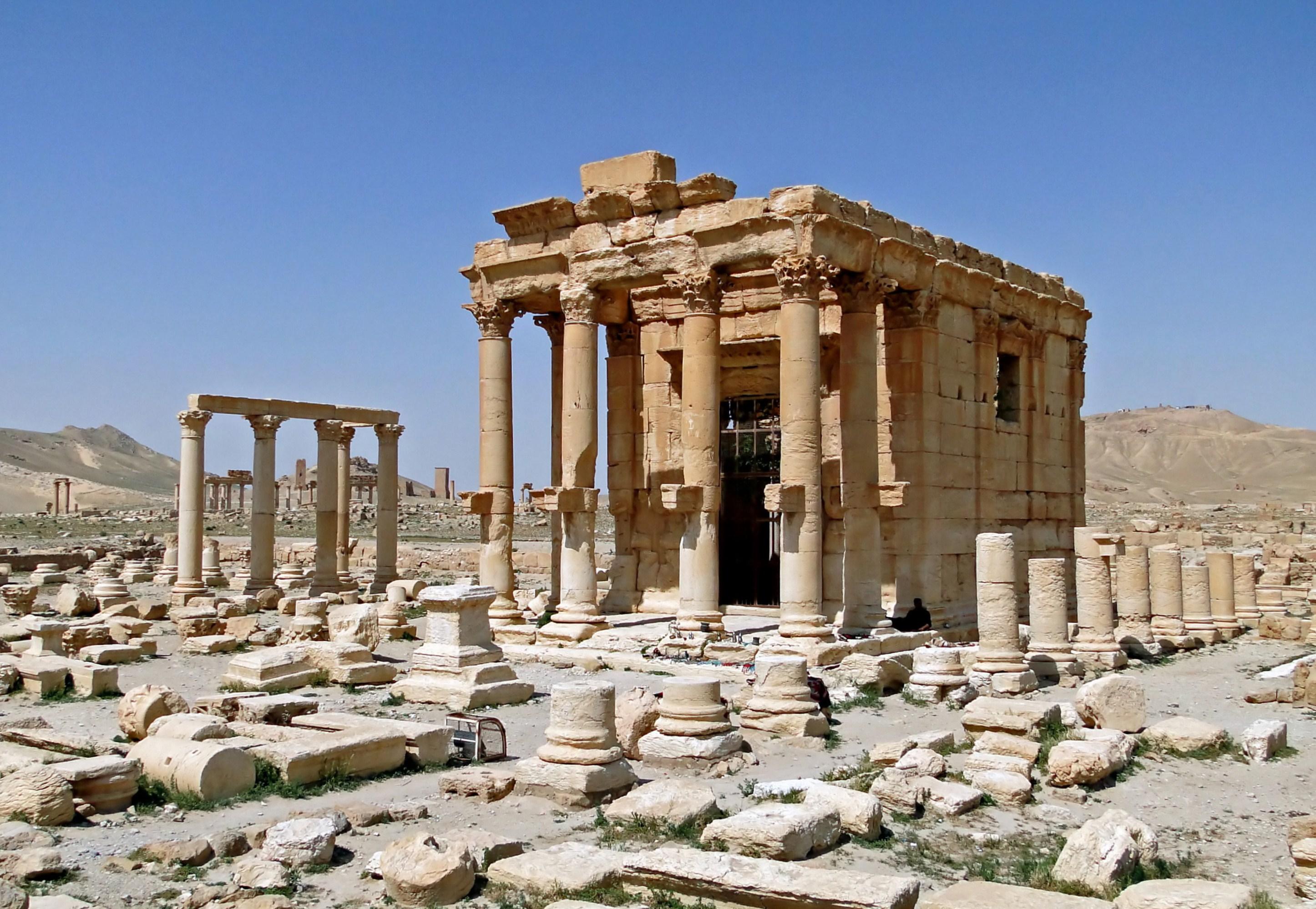 Temple of Baalshamin - Wikipedia