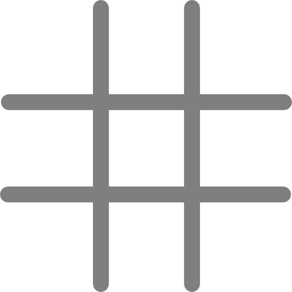 photo regarding Tic Tac Toe Board Printable identified as Document:Tic-tac-toe.png - Wikimedia Commons