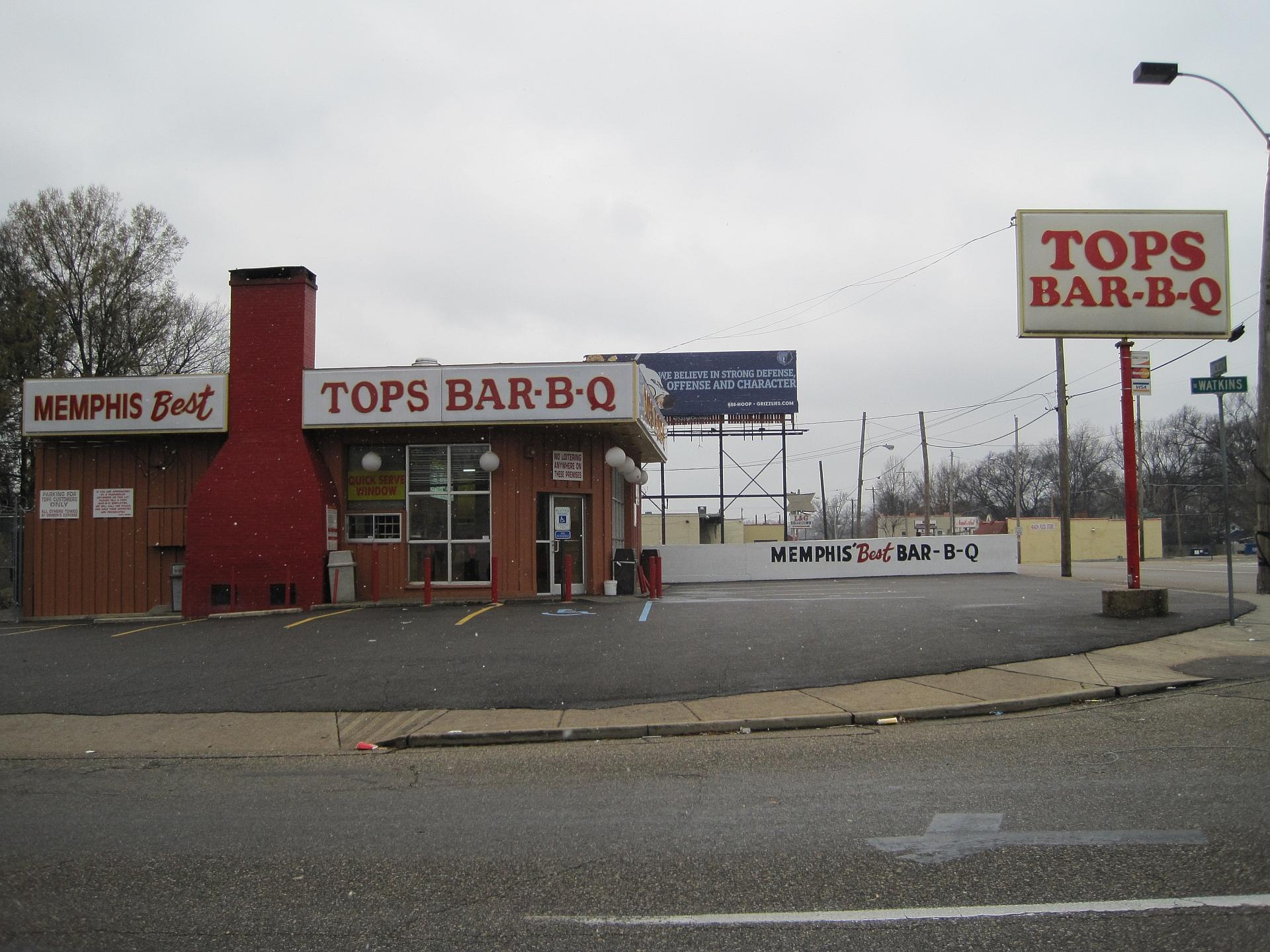Merveilleux File:Tops BBQ Watkins St Jackson Ave Memphis TN.JPG