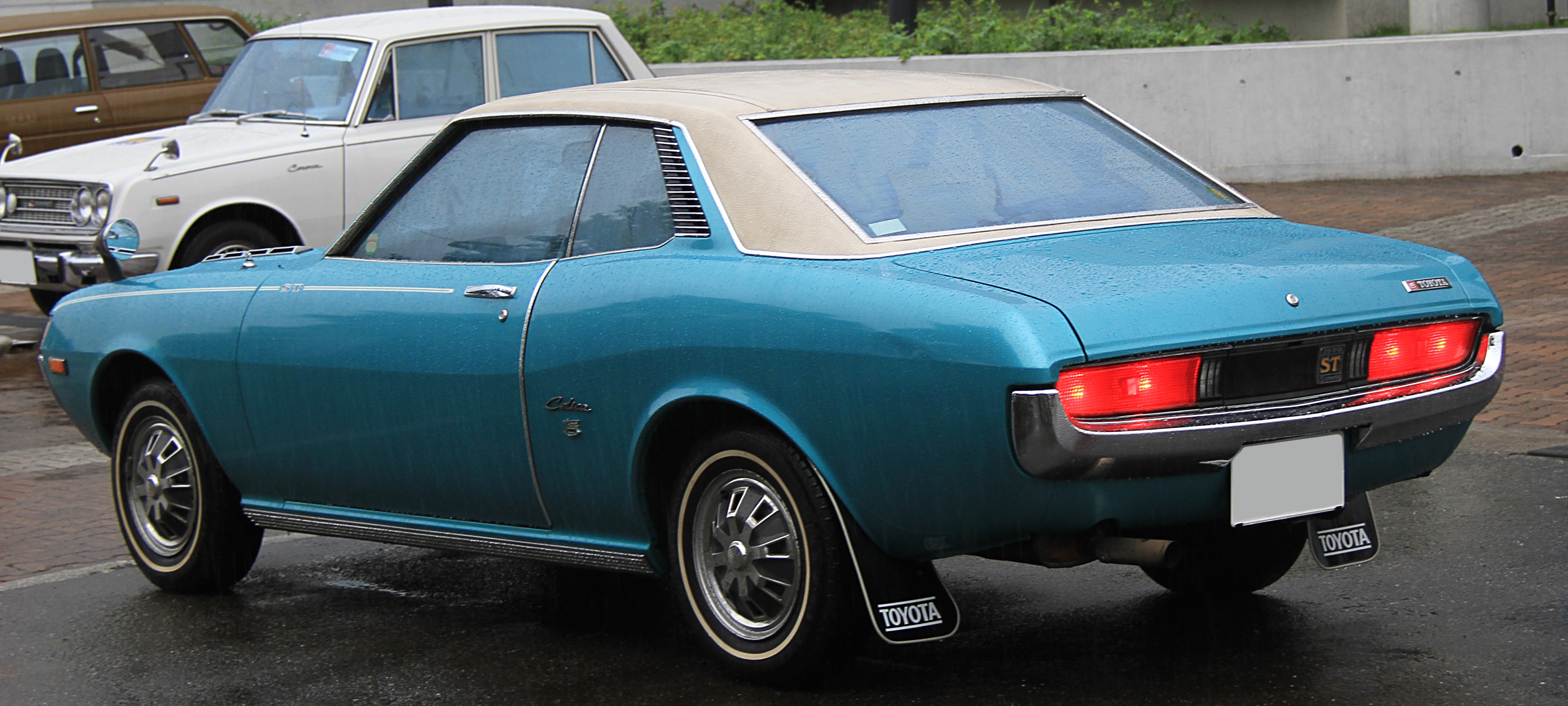 File Toyota Celica 1600st Ta22 Rear Jpg Wikimedia Commons