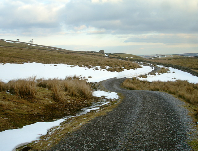 Track below Harter Fell - geograph.org.uk - 1718258