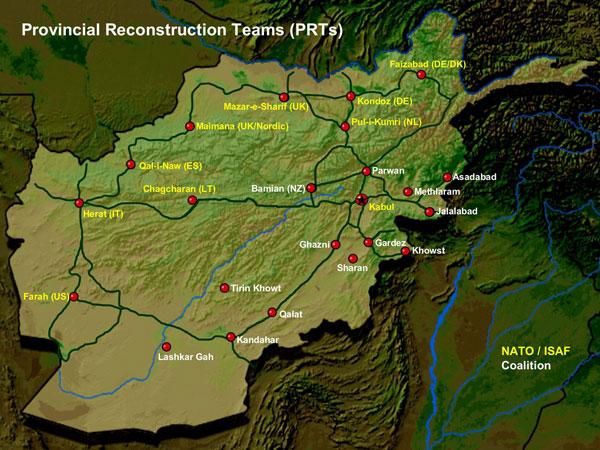 FileUS Provincial Reconstruction Teams In Afghanistanjpg - Afghanistan map us