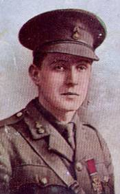 Eric Norman Frankland Bell Recipient of the Victoria Cross
