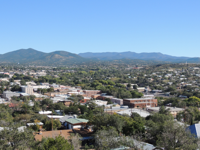 File:View of Downtown Silver City from Chihuahua Hill.jpg