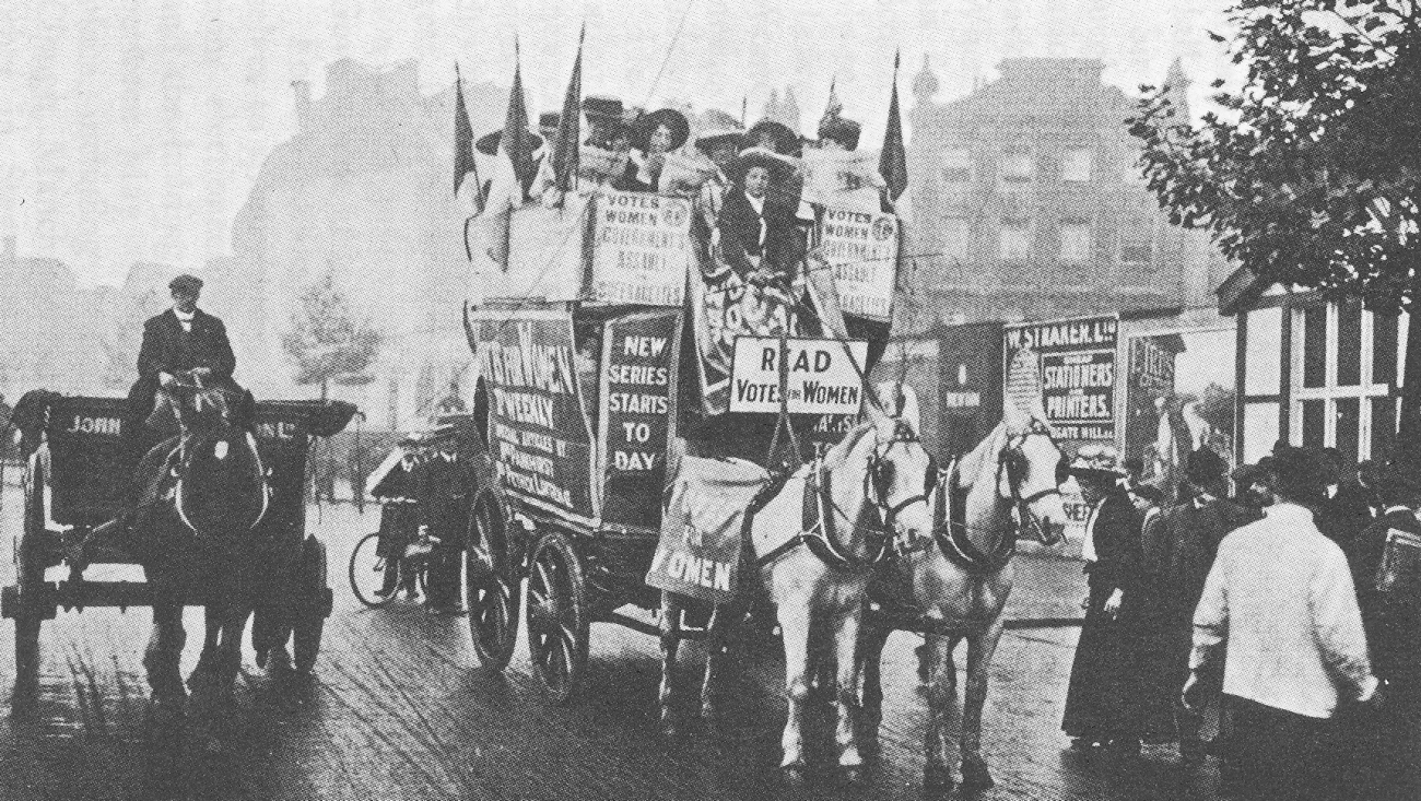 Suffragetten Demonstration