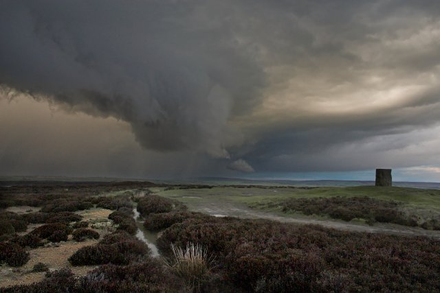 Wall Cloud at Danby Beacon - geograph.org.uk - 156351