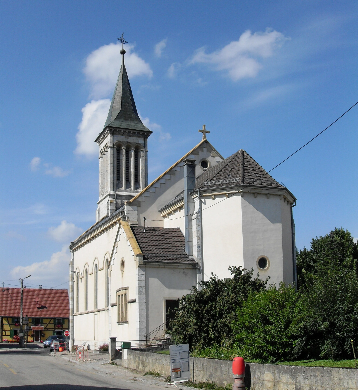 Rentwiki: File:Werentzhouse, Eglise Saint-Wendelin 1.jpg