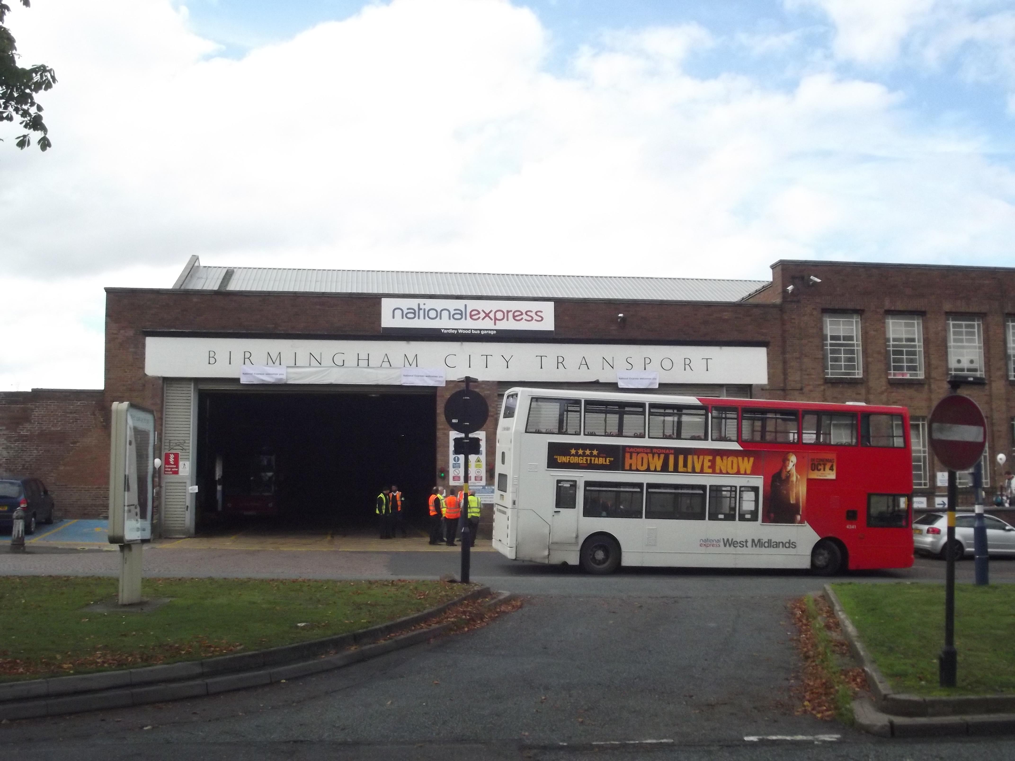 Fileyardley Wood Bus Garage Open Day No 18 4341 Birmingham