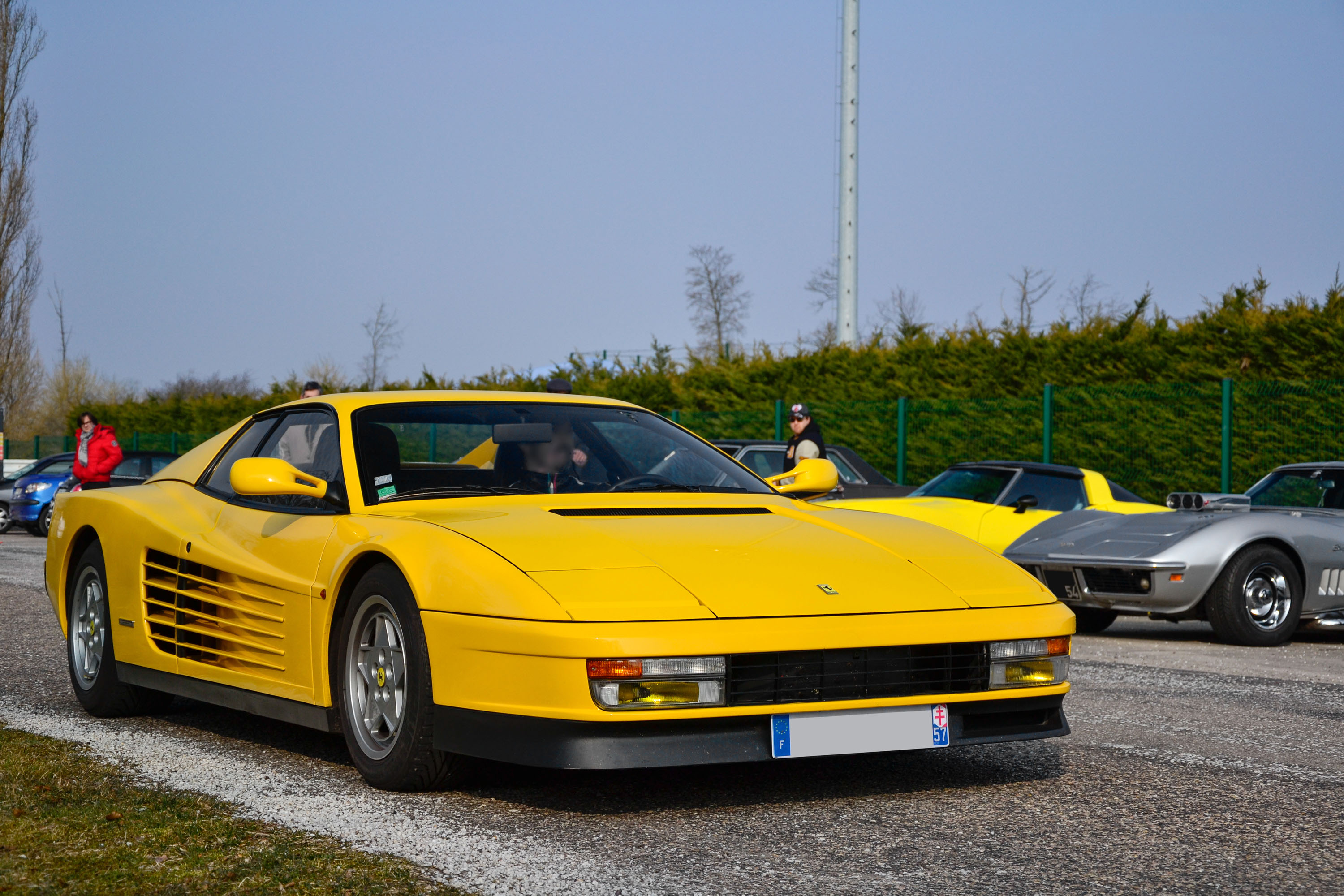 File Yellow Ferrari Testarossa In Nancy France 2013 01