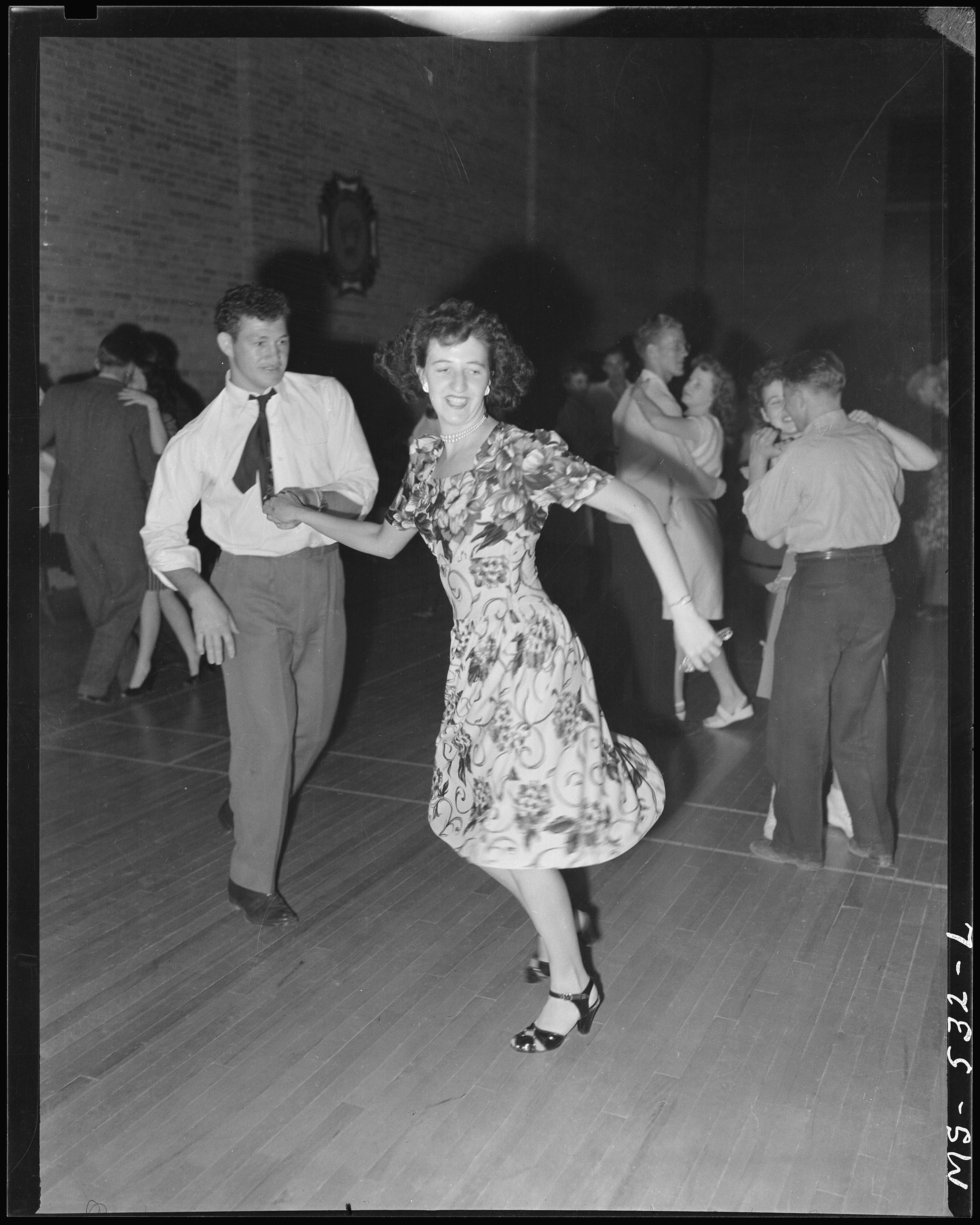 File Young Couple Dancing At Vfw Dance On Occasion Of
