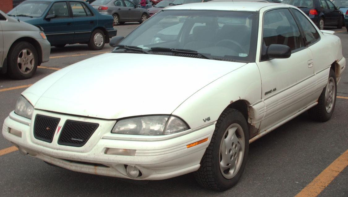 File 93 95 Pontiac Grand Am V6 Coupe Jpg Wikimedia Commons