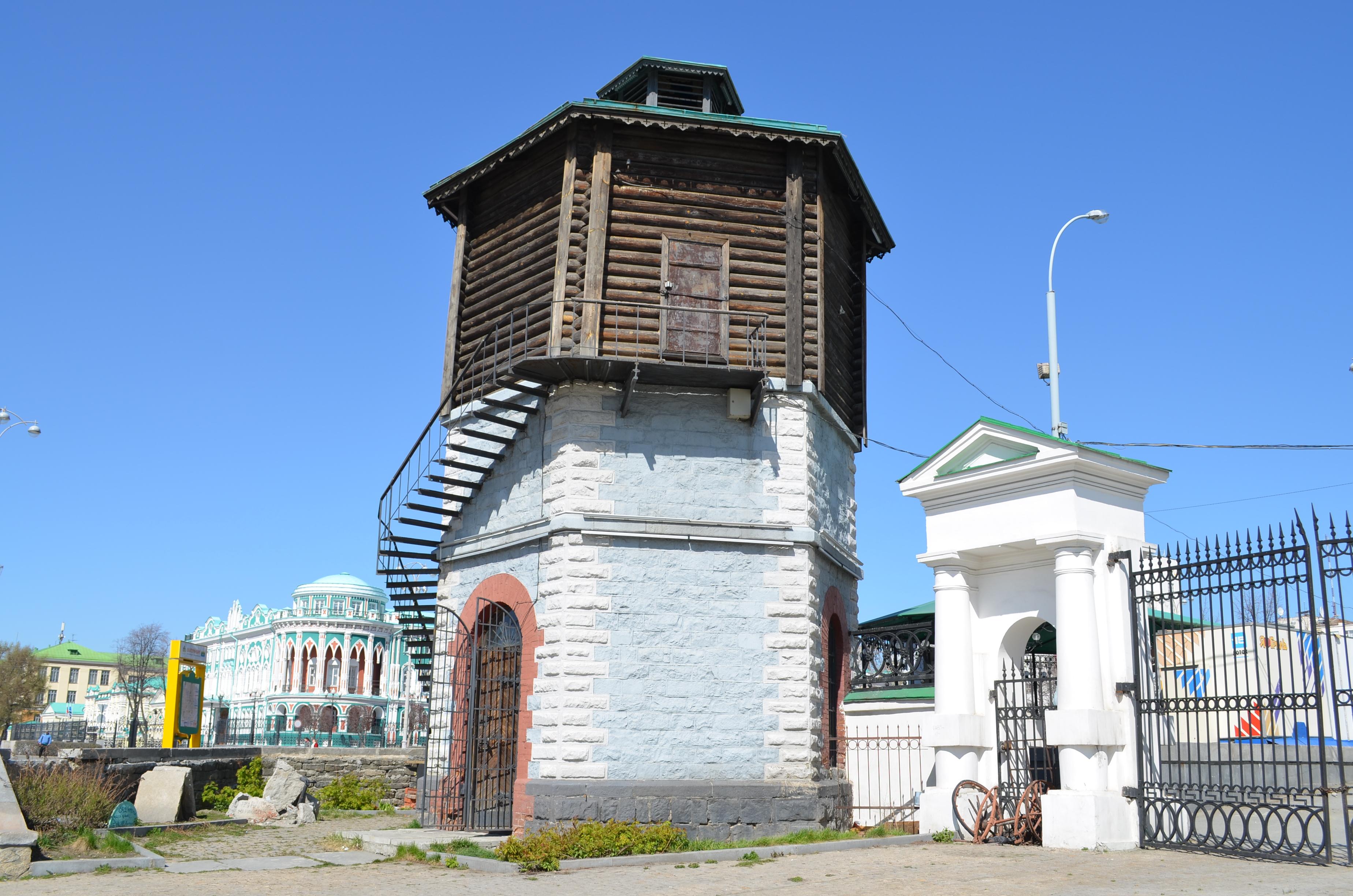 Описание водонапорной башни