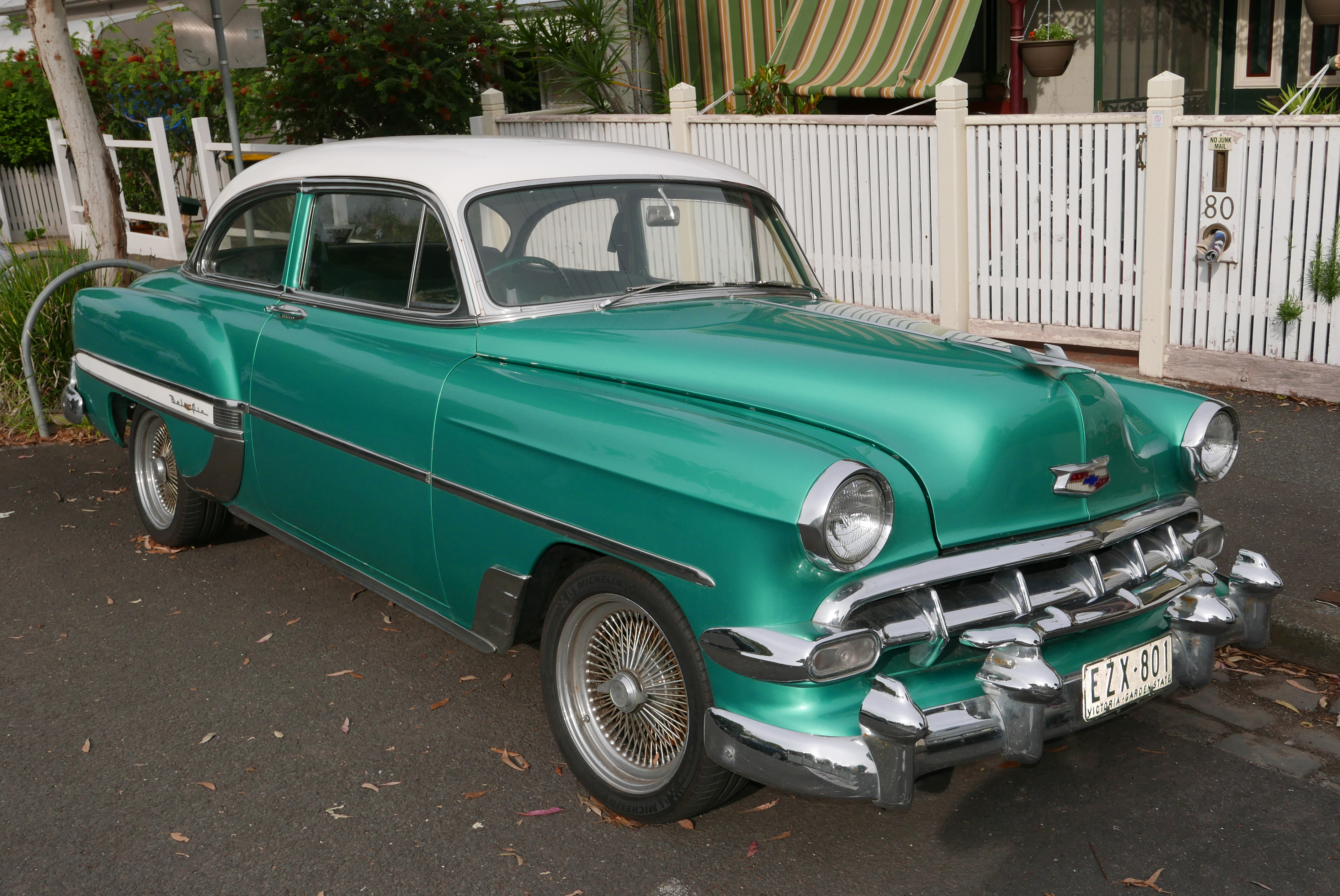 File1954 Chevrolet Bel Air Coupe 2015 11 01 Wikimedia 1954 4 Door