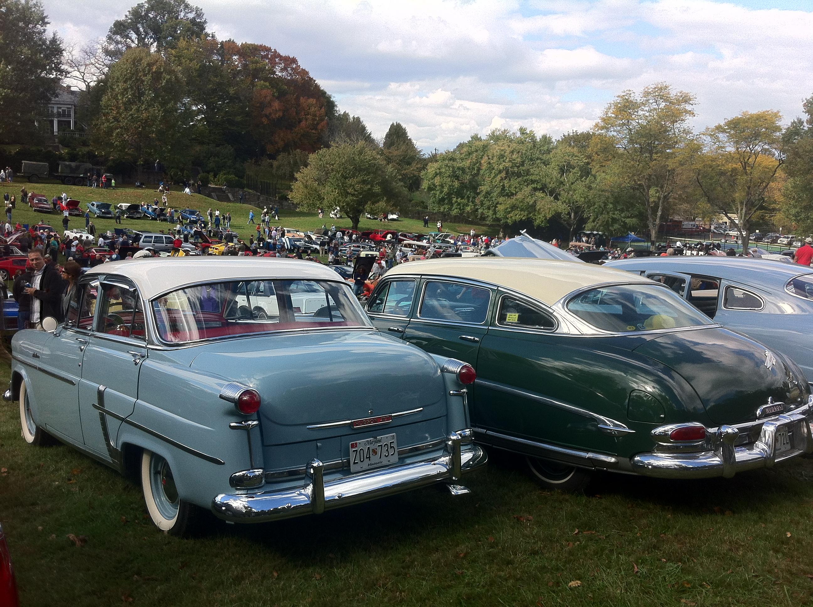File1954 Hudson Jet Liner And 1953 Hudson Hornet Rockville Show