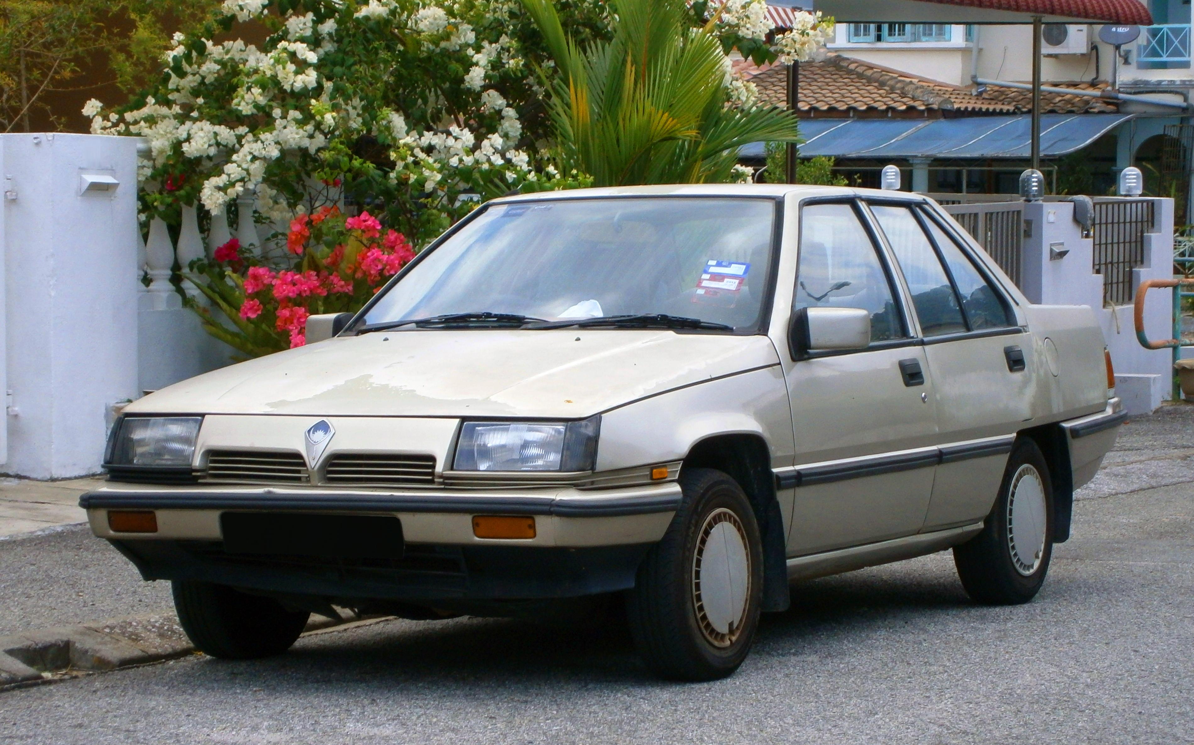 Old Proton Car