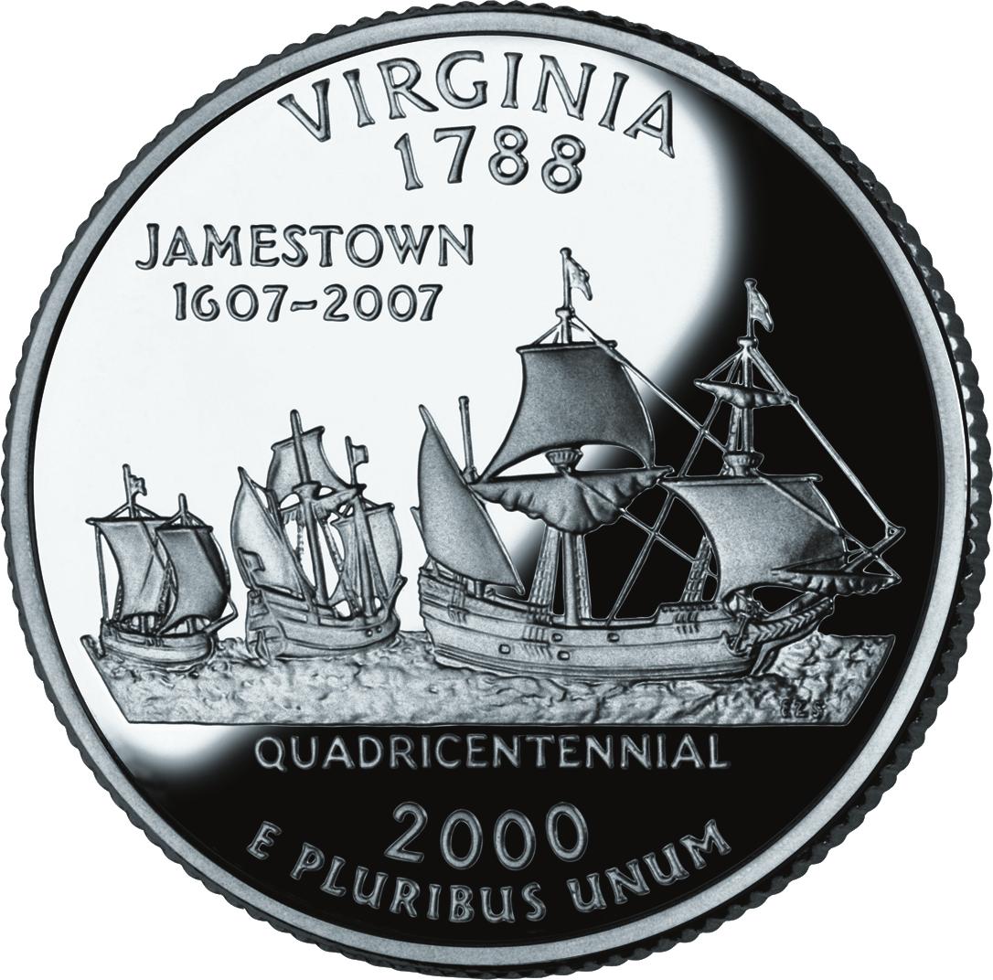 Virginia quarter