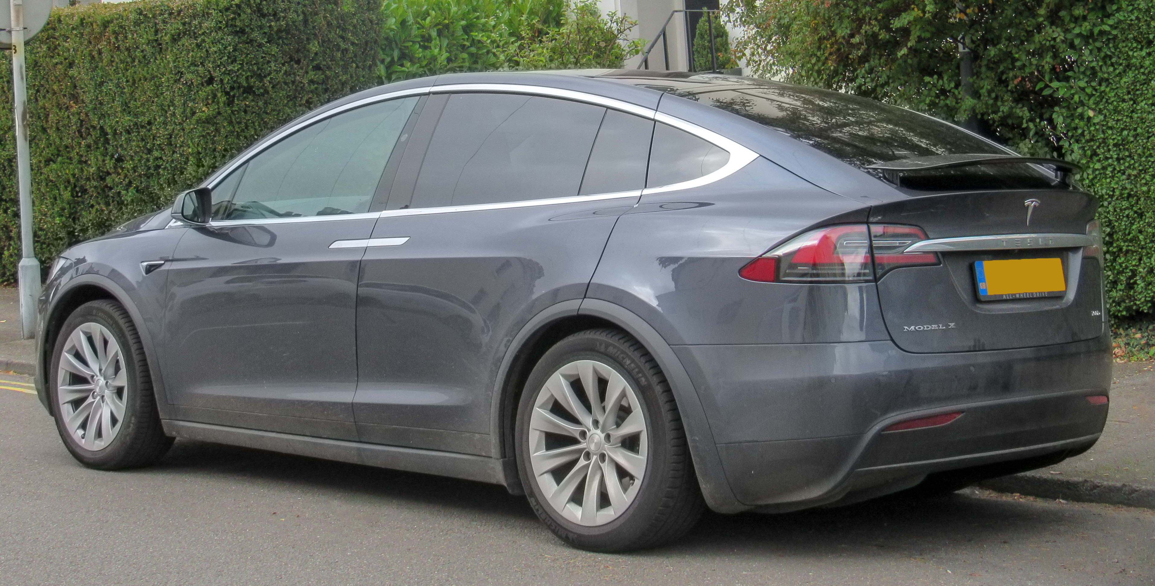 File 2017 Tesla Model X 100d Rear Jpg