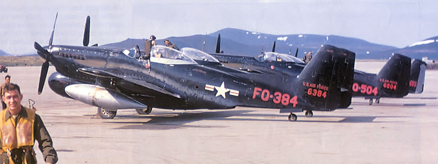 File 449th Faws North American F 82h Twin Mustang 46 384