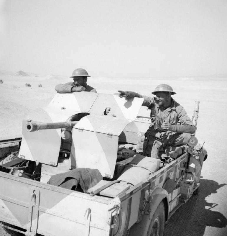 German 50 Mm Anti Tank Gun: File:A Lorry Mounted Anti-tank Gun In The Western Desert