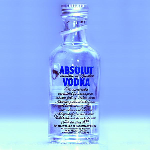Absolut vodka prosent
