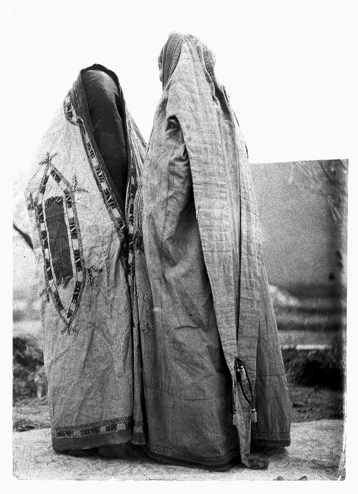 file afghan ladies in their purdah dress chador wellcome l0020787