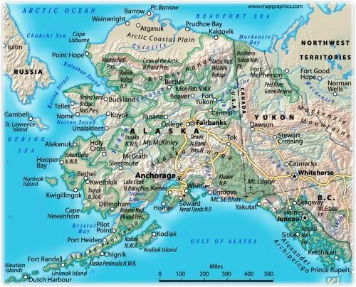 Wasilla Alaska Map Alaska Fhwa Map Jpg