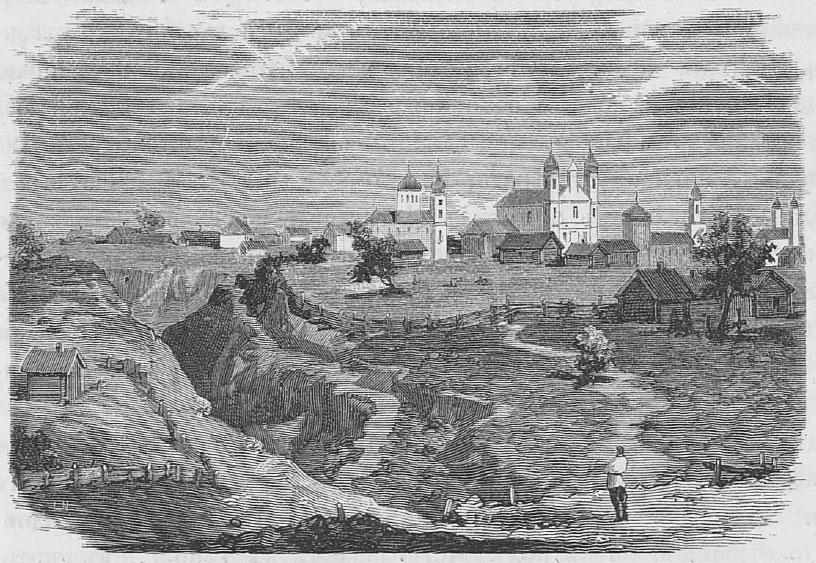Старажытны Мсціслаў. Фота з Wikimedia Commons.