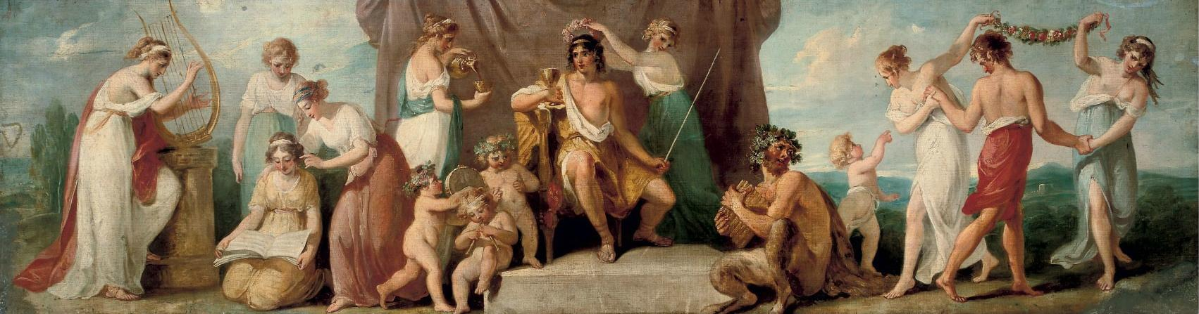 Angelica Kauffmann - Apollo and the Muses on Mount Parnassus.jpg