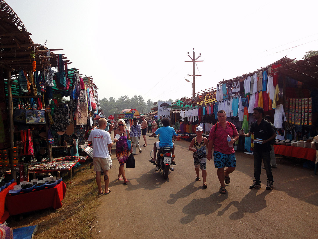 Colourful Anjuna Flea Market