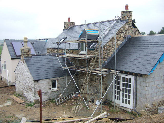 File:Another Pembrokeshire property gets a makeover - geograph.org.uk - 206395.jpg
