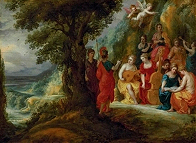 File:Apollo and the Muses by Hendrick van Balen and Jan Tilens.jpg