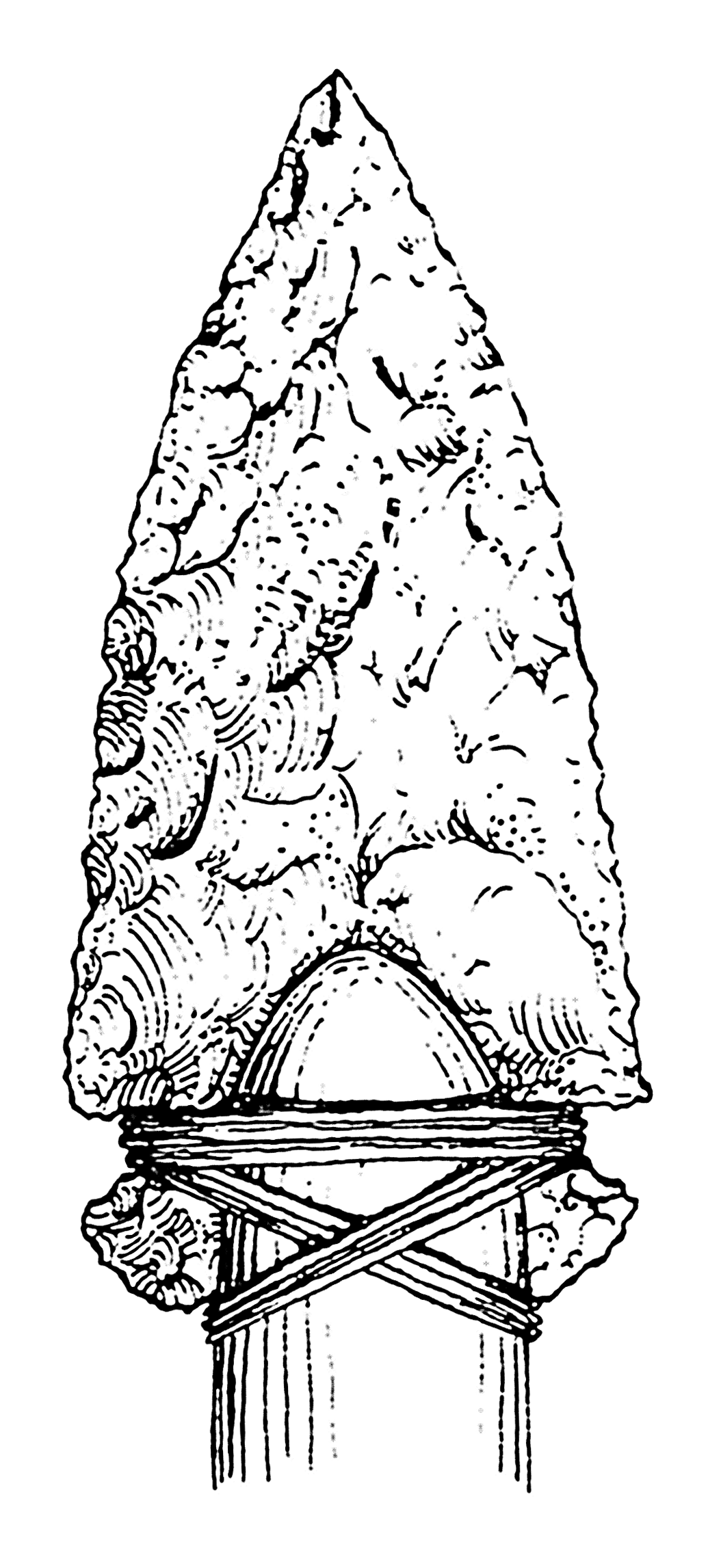 arrowheads coloring pages - photo#6