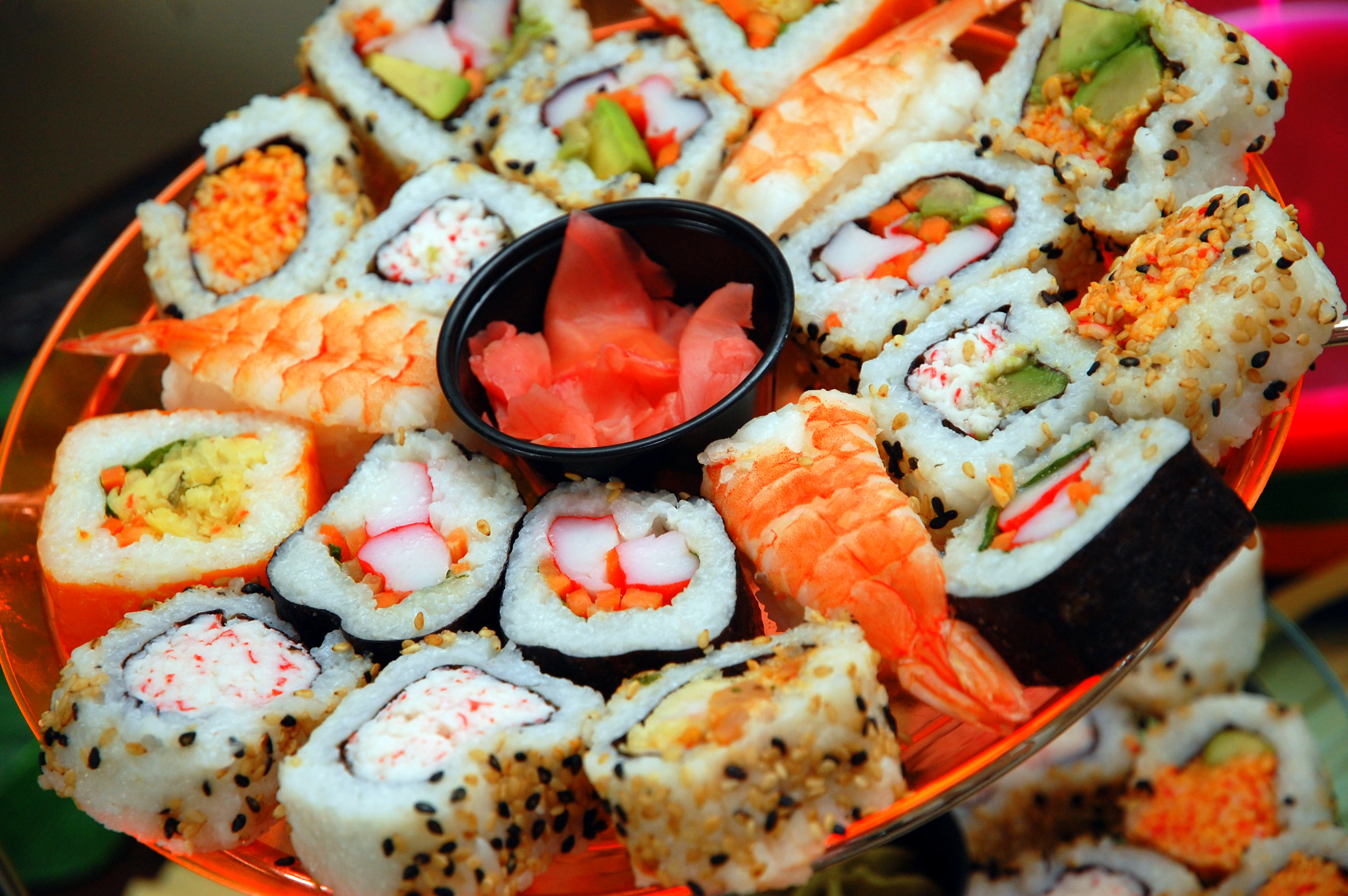 sushi beautiful fish food - photo #13