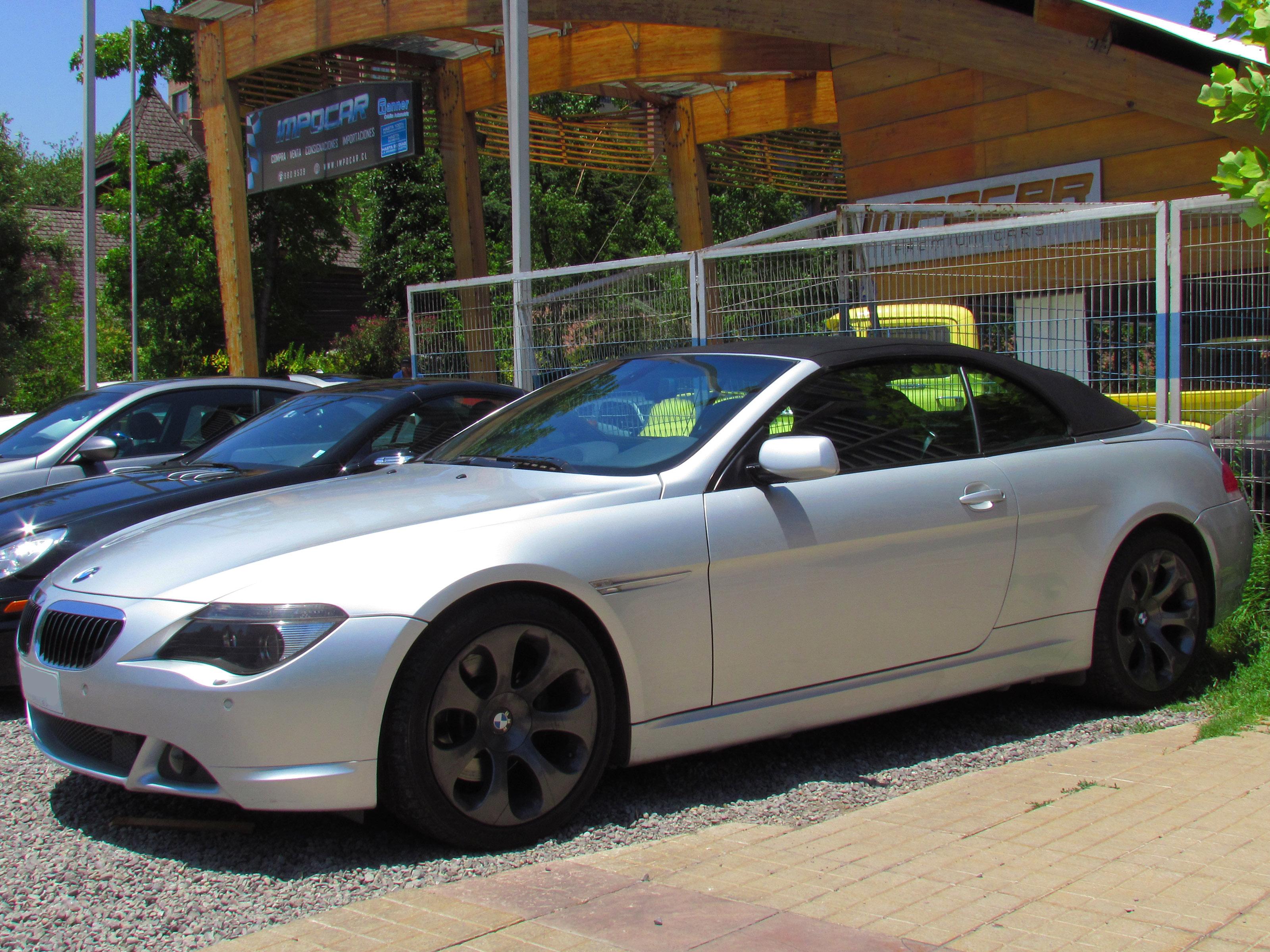 FileBMW I Cabriolet Jpg Wikimedia Commons - 645i bmw