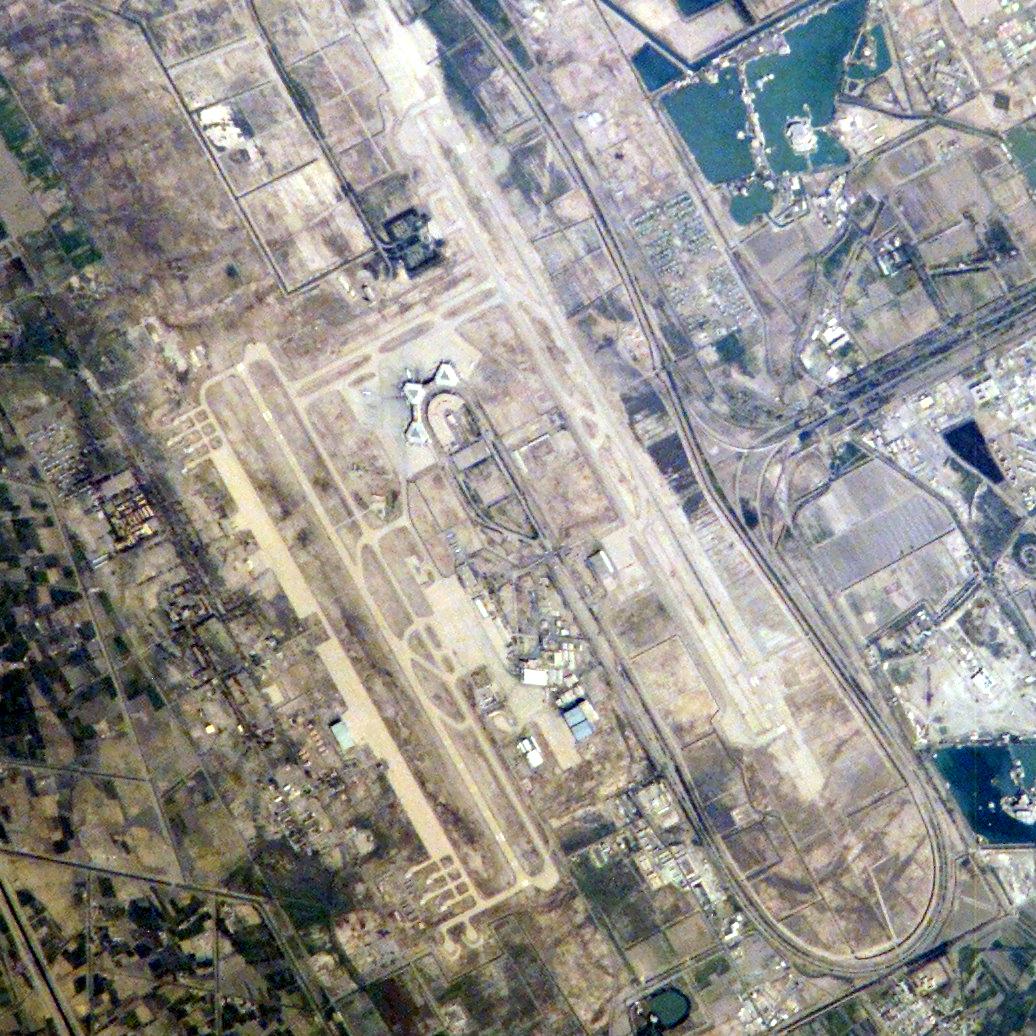 Depiction of Aeropuerto Internacional de Bagdad