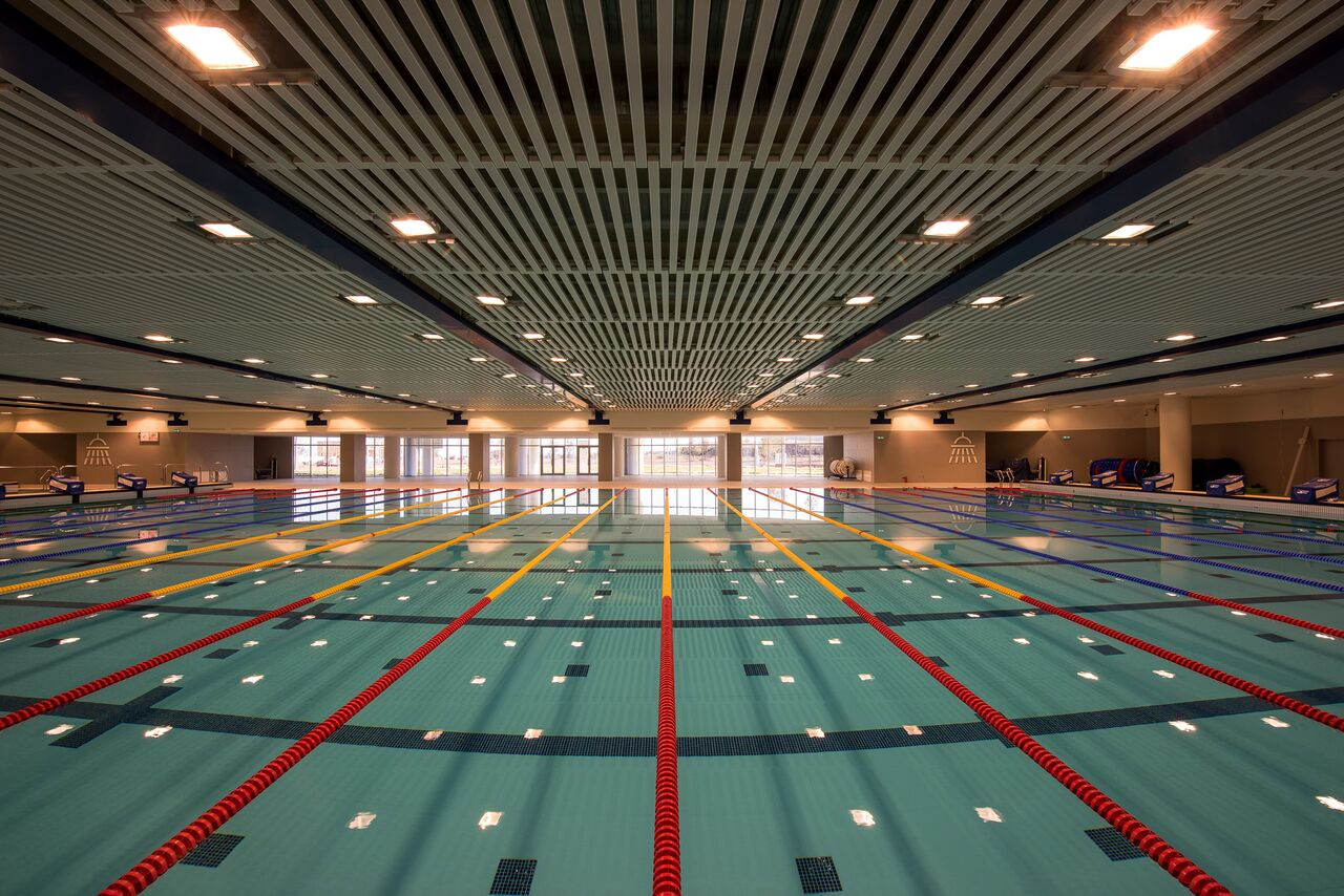 Image gallery olympic swimming stadium - Olympic size swimming pool dimensions ...