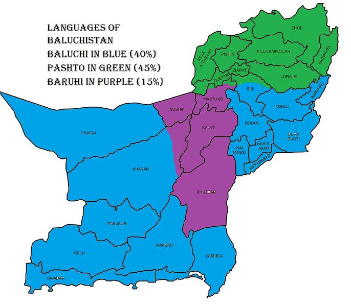 FileBaluchistan Language Mappng Wikimedia Commons - Pakistan language map