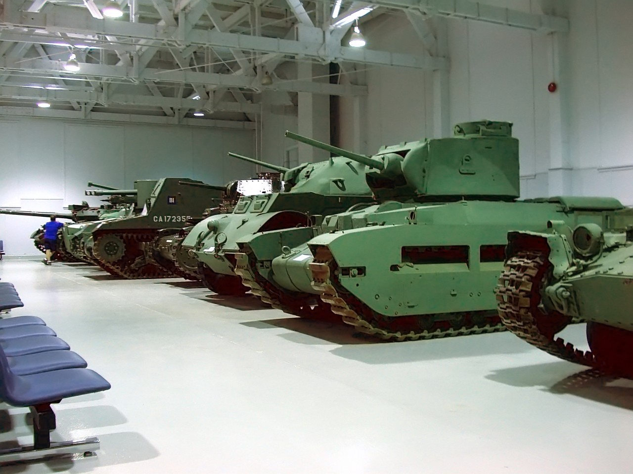 File:Base Borden Military Museum Indoor Vehicle Display ...
