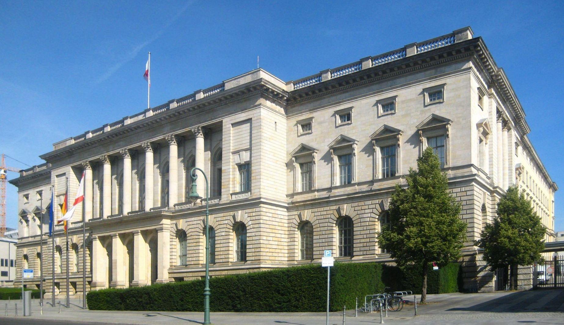 Preußischer Landtag in Mitte, Sitz des Berliner Abgeordnetenhauses