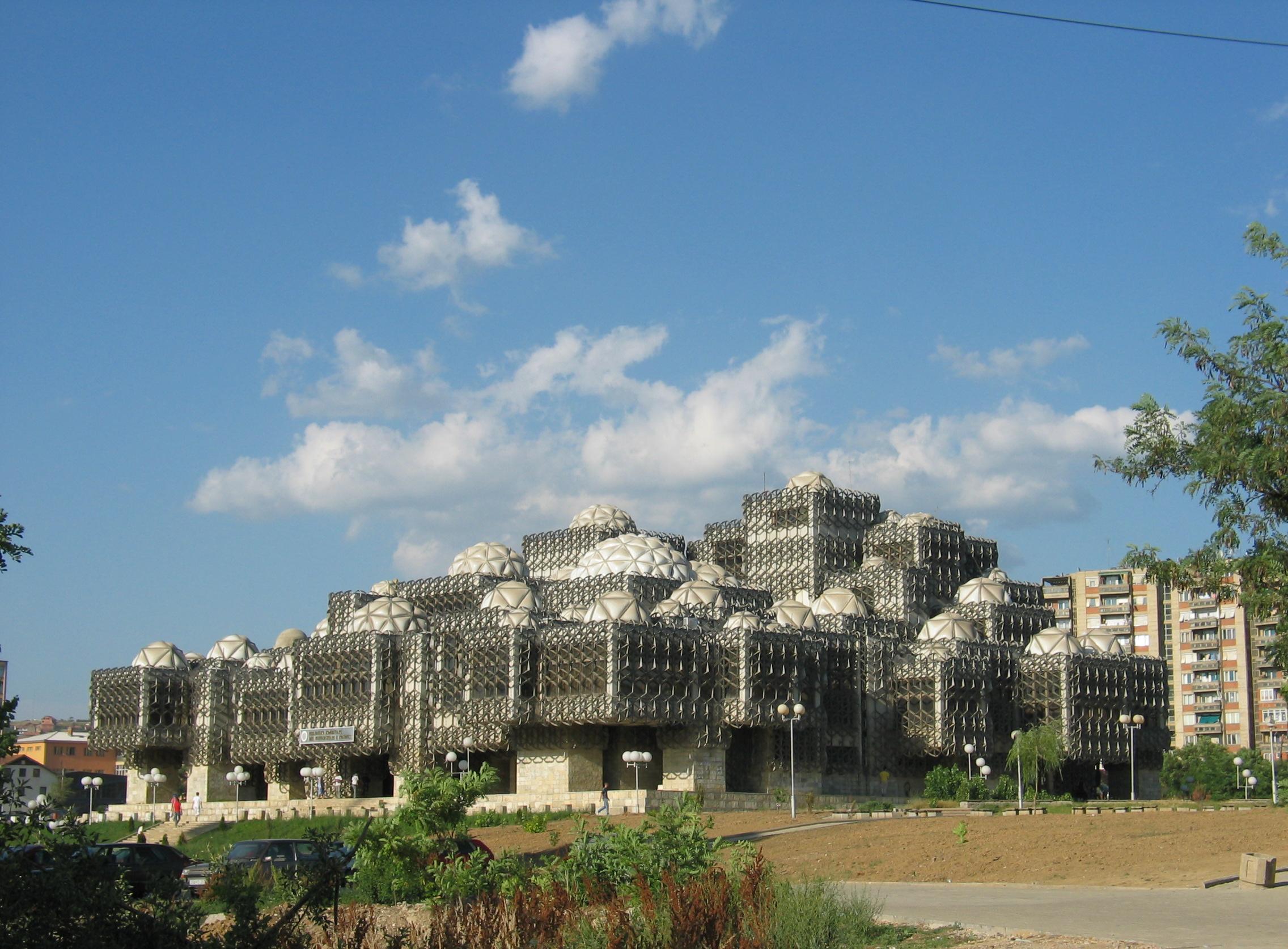 Die National- und Universitätsbibliothek des Kosovo