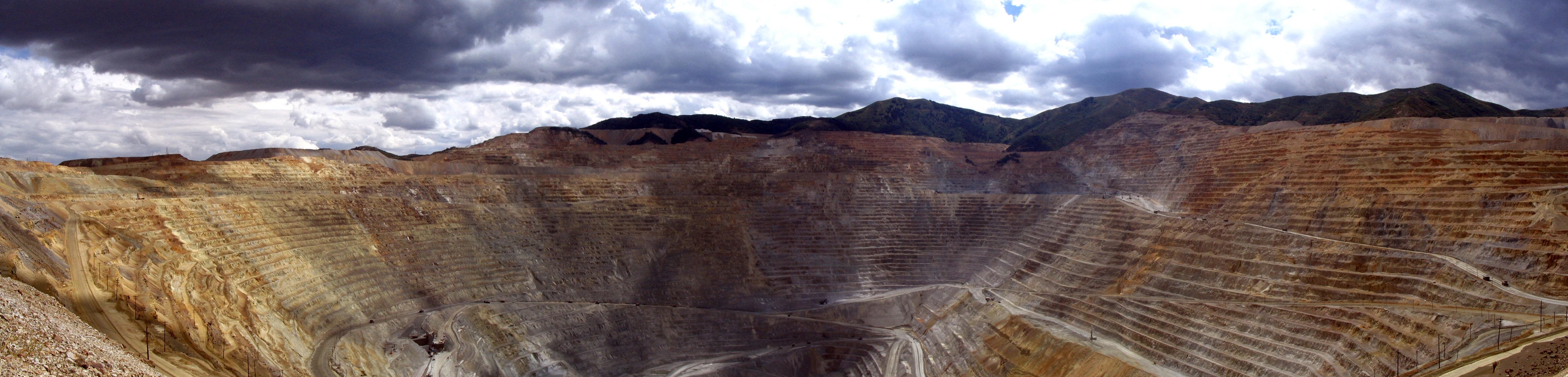 Bingham Copper Mine Panoramic Wikipedia