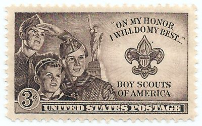 Boy Scouts BSA Stamp