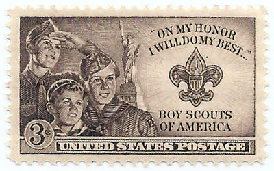 Boy Scouts BSA Stamp