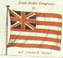 Flag of the British East India Company