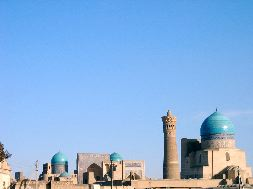 Bukhara city skyline Bibi-Khanym Mosque.jpg