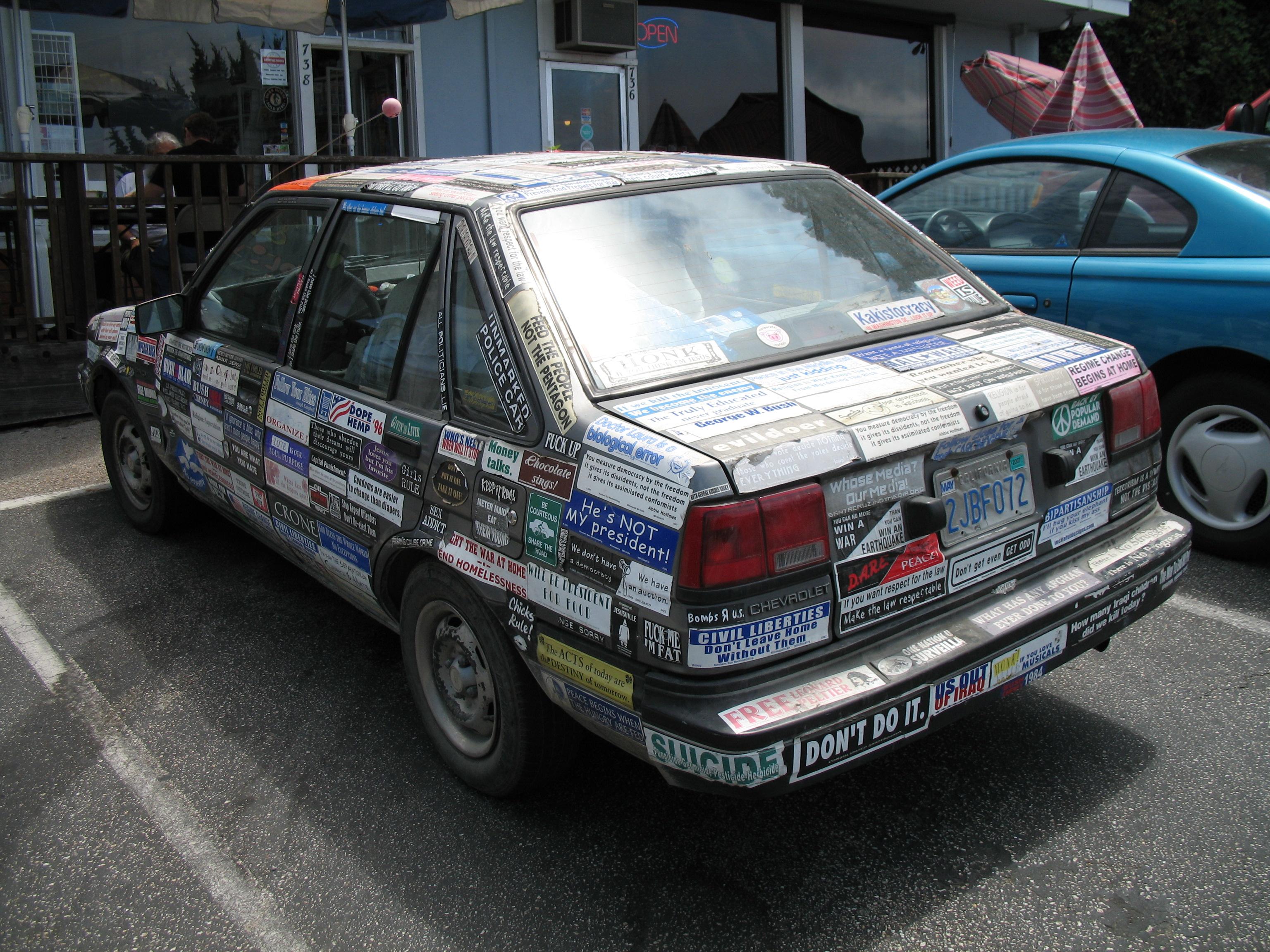 Bumper stickers texas liberal