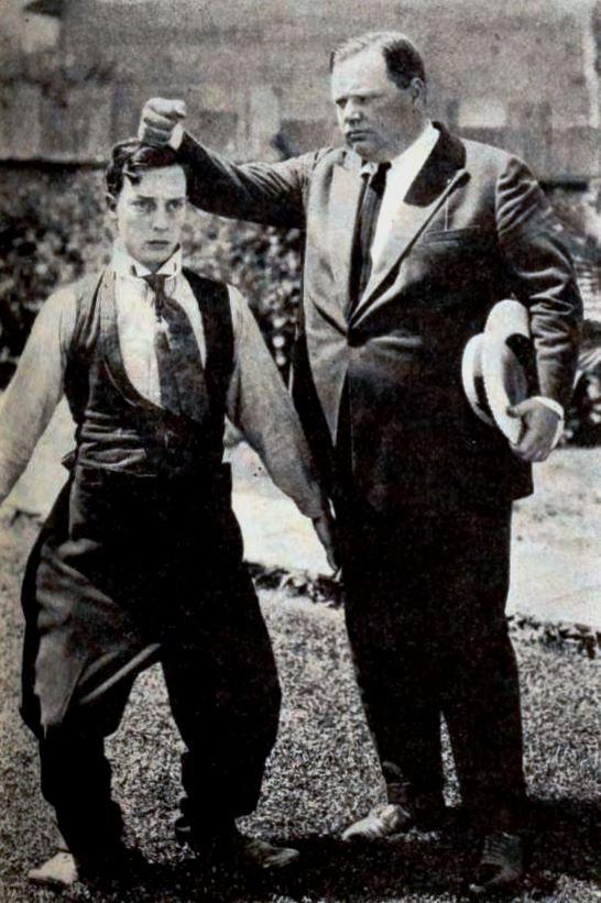 File:Buster Keaton & Roscoe Arbuckle - Nov 1920 EH.jpg - Wikimedia Commons