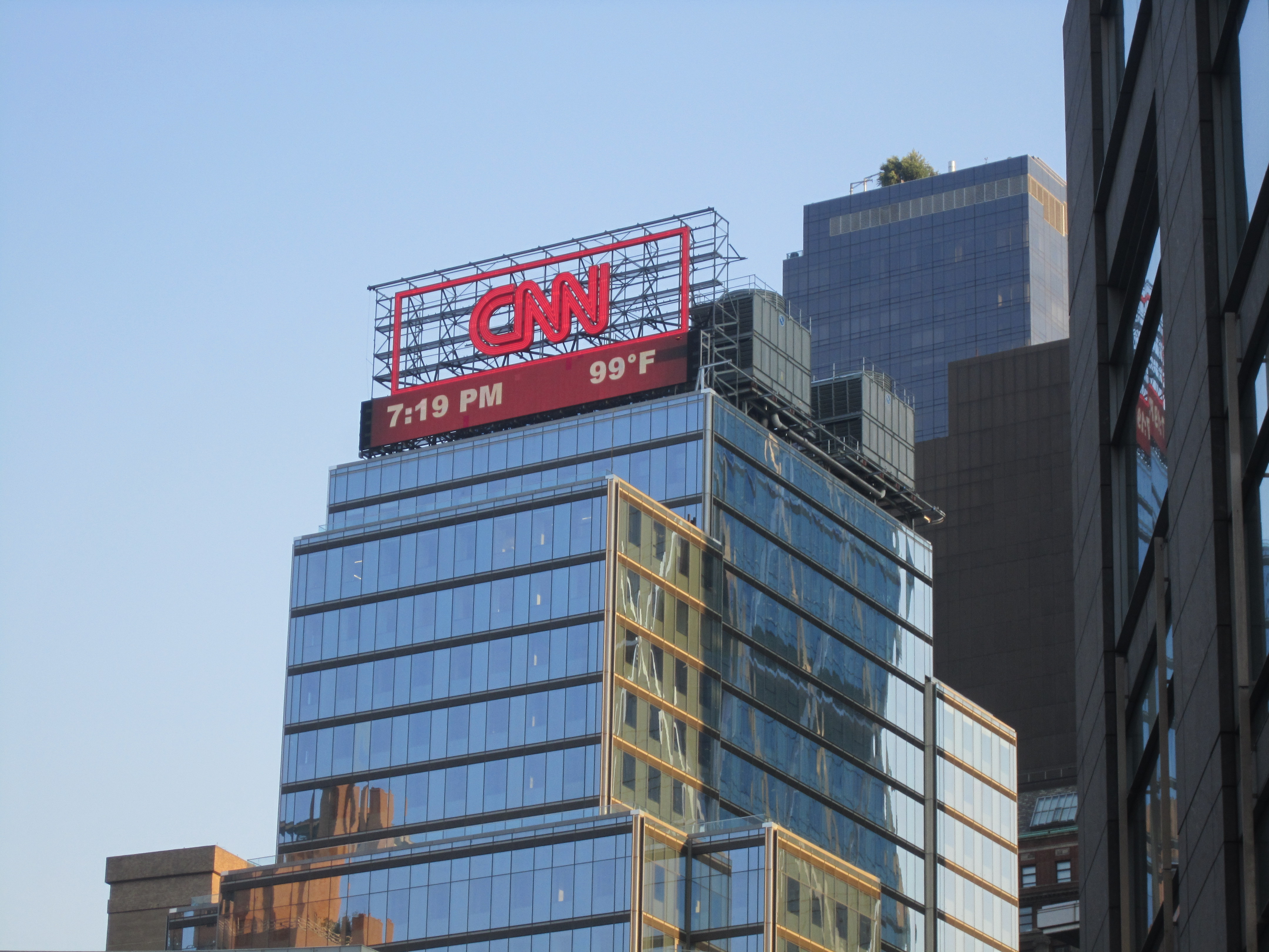 CNN in New York City