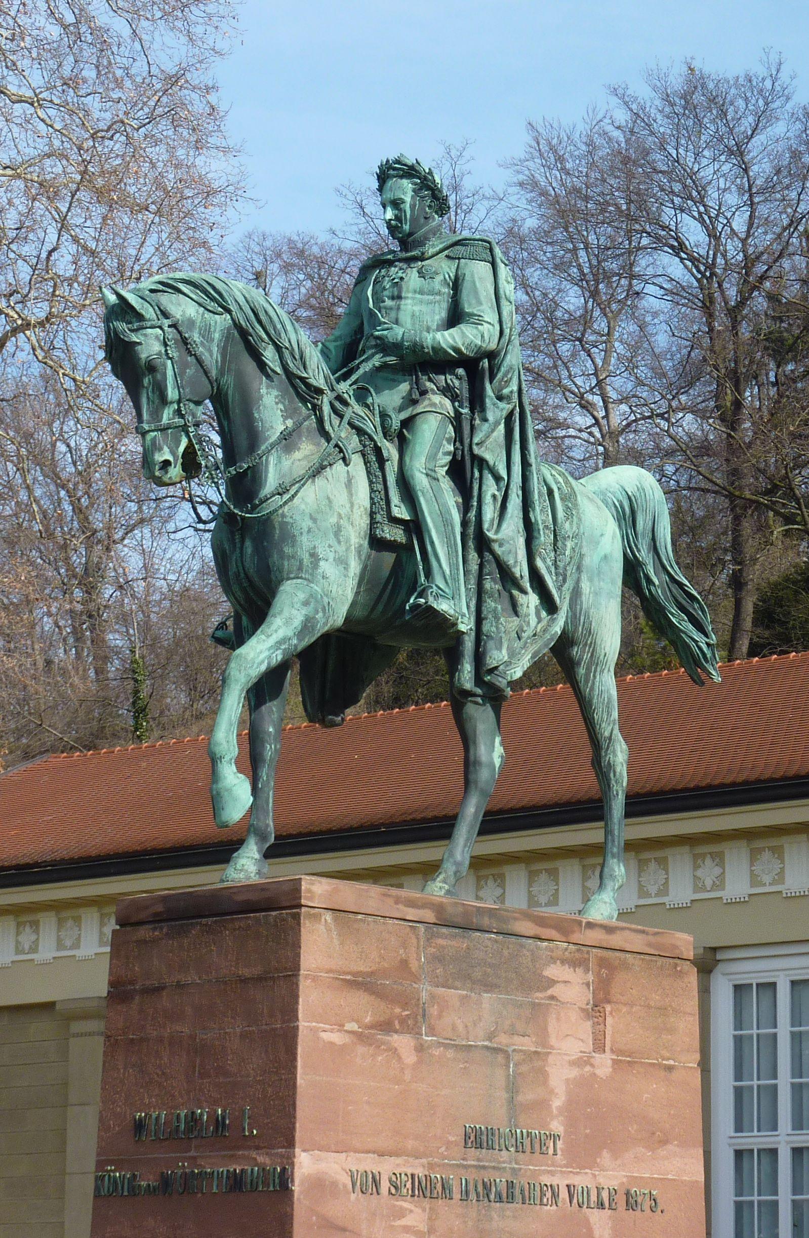 Denkmal Wilhelm 1 File:cannstatt Denkmal Wilhelm